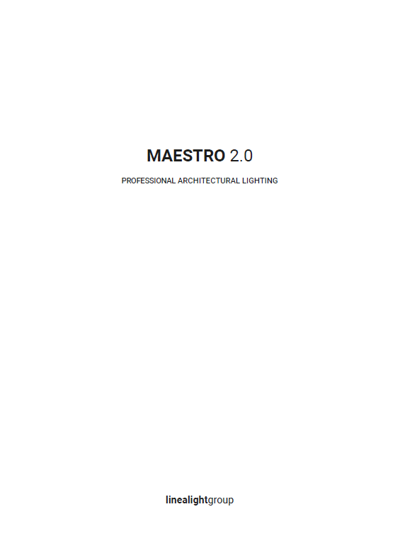 linealight-maestro 2 2020