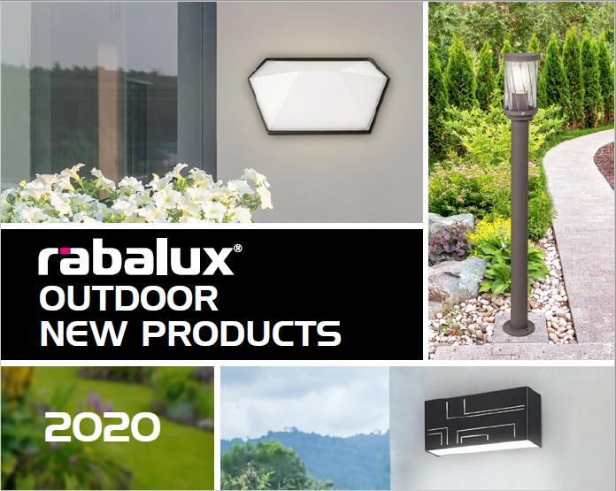 rabalux outdoor news 2020