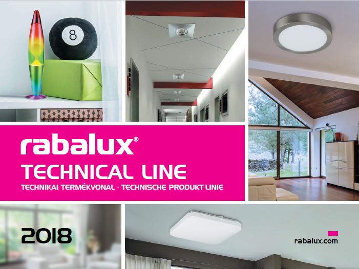 rabalux technical line 2018